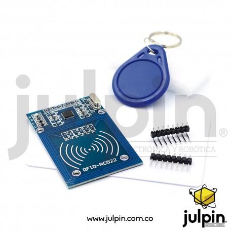 Módulo RFID + llavero y tarjeta