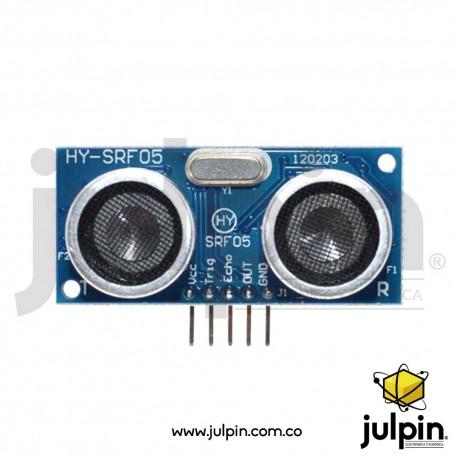 Sensor ultrasonido HY-SRF05