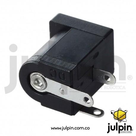 Conector toma corriente para PCB