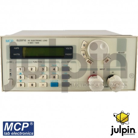 Medidor de carga DC programable. marca MCP