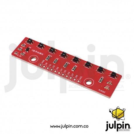 Sensor seguidor de línea QTR-8A