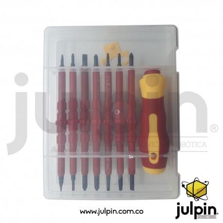 Kit de destornillador multiproposito