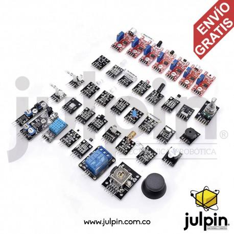 Kit de 37 módulos de sensores