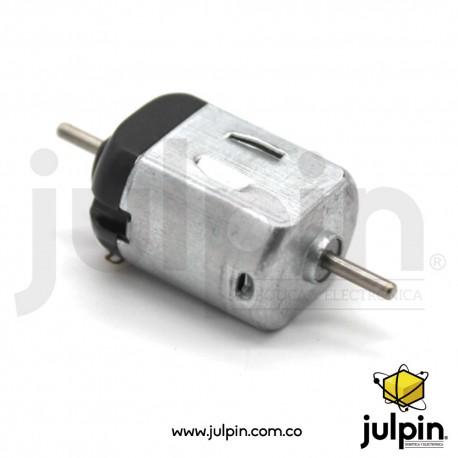 Micro motor R130 de doble eje a 3V