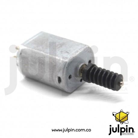 (3V-6V) Micro motor de doble eje con tornillo sin fin