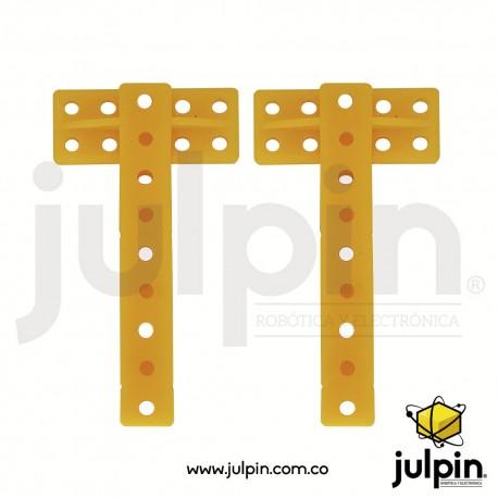 1 Par de varillas o columnas en forma de T