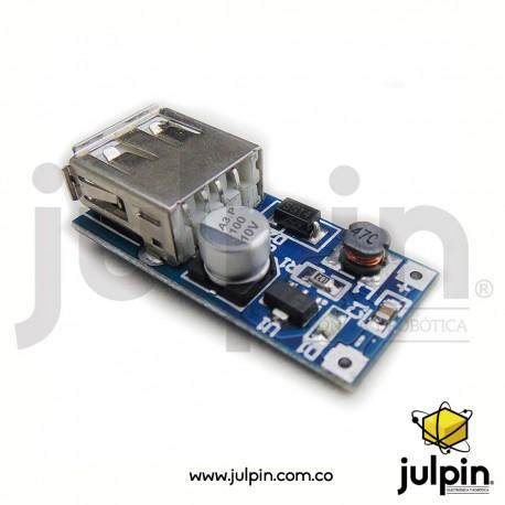 Módulo de suministro de voltaje regulado USB 5V