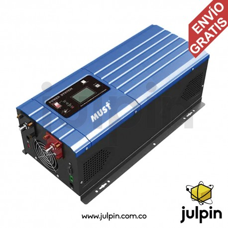 Inversor de baja frecuencia de 4KW a 48V. Salida 110V