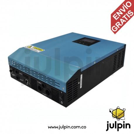 Inversor híbrido de 1000VA con controlador de carga solar MPPT