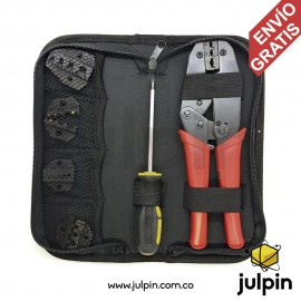 Kit de ponchadora con mordazas intercambiables