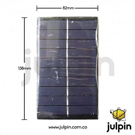 Panel solar de 5V a 300mA