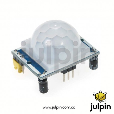 Sensor PIR de movimiento humano HC-SR501