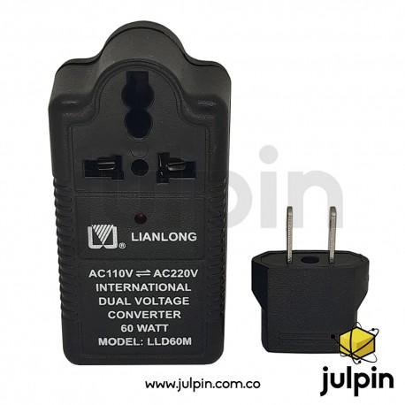 Elevador y reductor  de voltaje de 60W