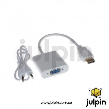 Adaptador convertidor de HDMI a VGA