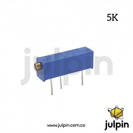 Potenciómetro trimmer de 5K