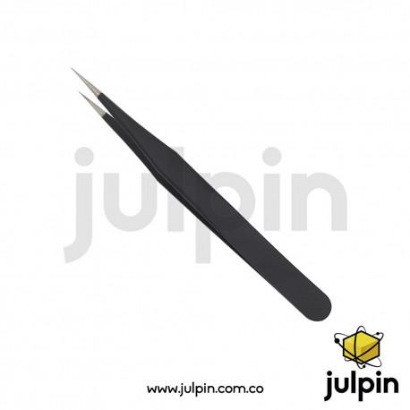 pinza antiestática de precisión (punta recta)