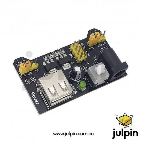 Módulo de alimentación 3.3~5V DC para protoboard