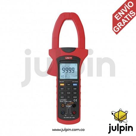 Pinza para medir potencia y armónicos. Serie UT243