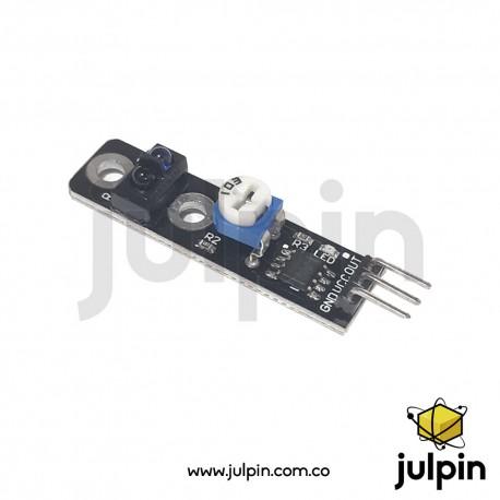 Sensor infrarrojo seguidor de línea. KY-033